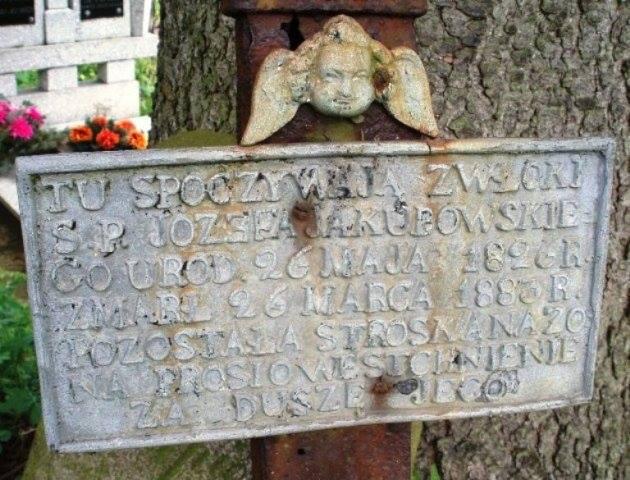 Cmentarz w Szczebrze