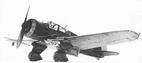 """Polski lekki bombowiec i samolot rozpoznawczy PZL-P23A """"Karaś"""""""