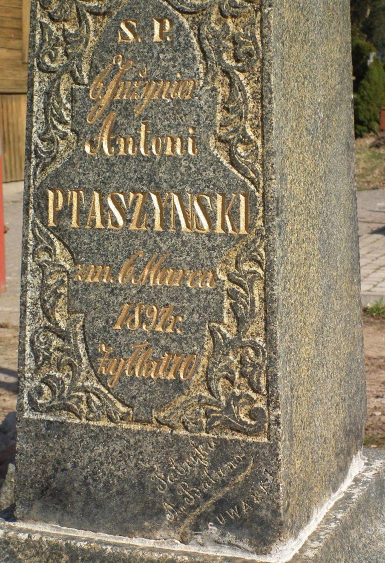 Najstarsze groby na augustowskim cmentarzu