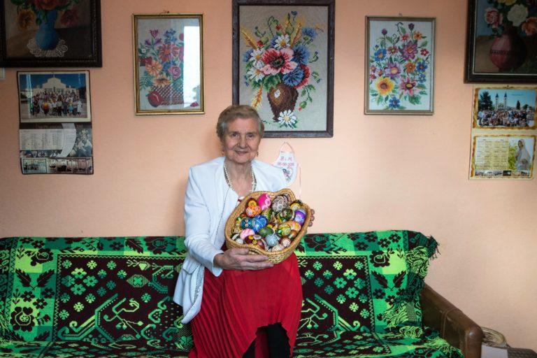 Krystyna Cieśluk – pisankarka z Lipska
