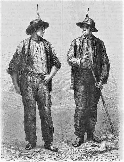 Górnicy Amerykańscy z 70 lat XIX wieku