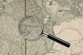 Grzędy Topograficeskaja Karta Carstva Polskago