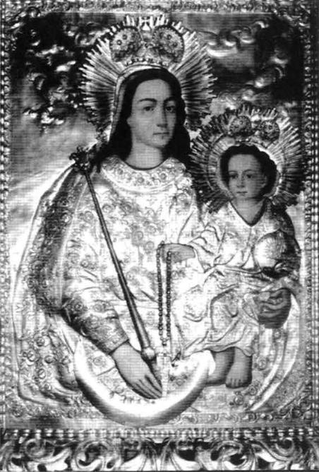 11. Cudowny obraz Matki Boskiej Krasnoborskiej (stan obecny).
