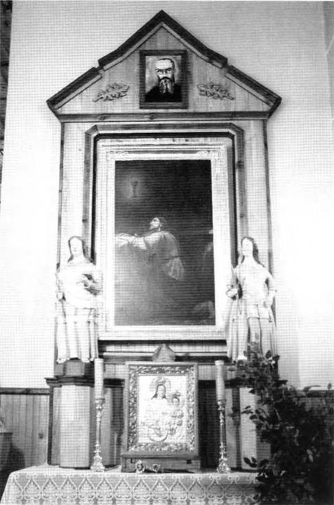7. Ołtarz boczny z wizerunkiem Pana Jezusa w Ogrójcu w kościele pw. św. Rocha w Krasnymborze (w zbiorach ROBiDZ Białystok).