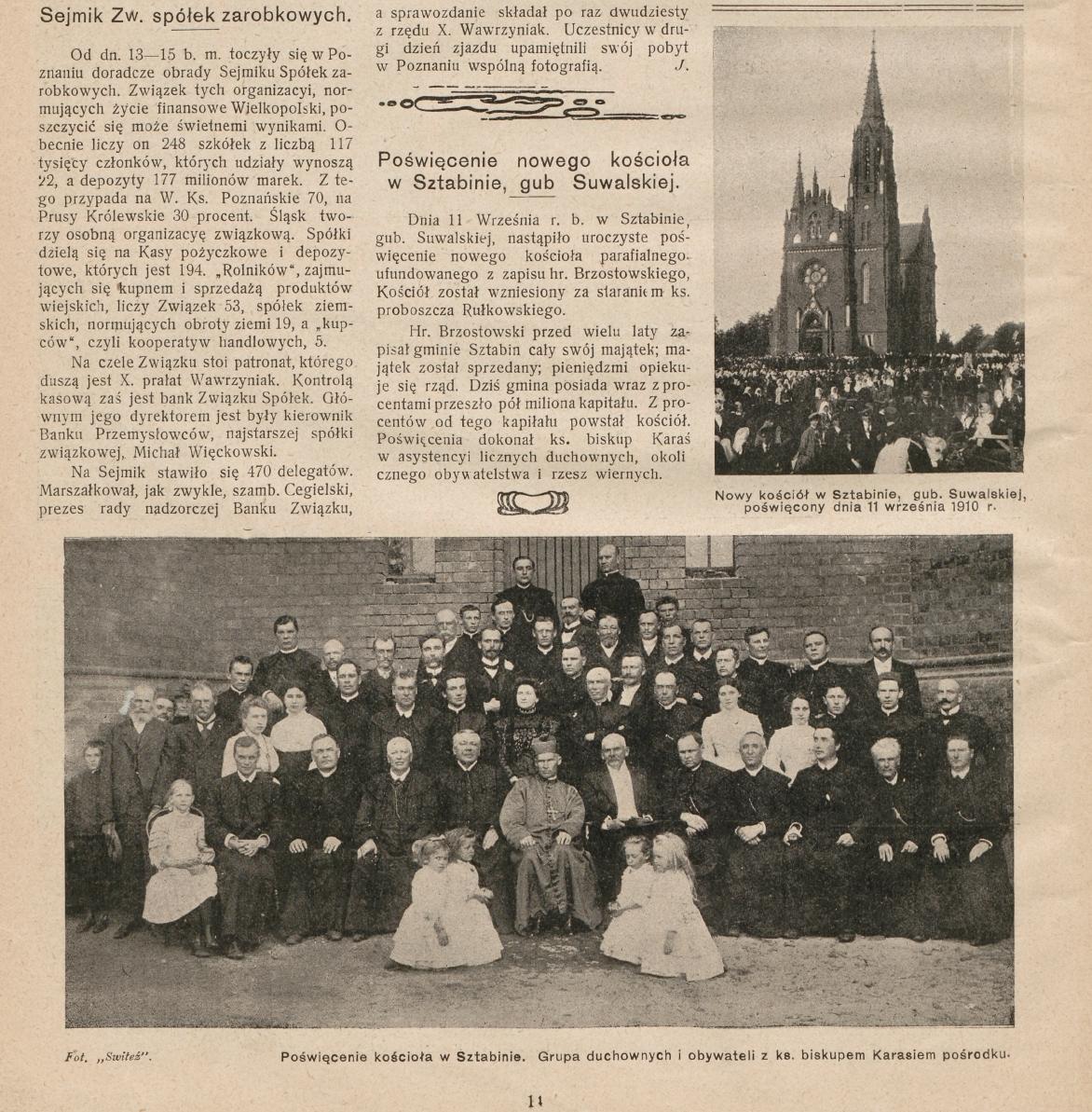 Świat - Pismo tygodniowe nr 40/1910