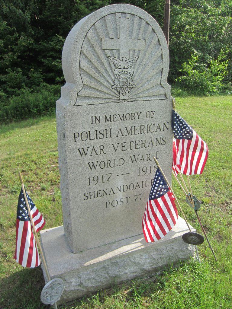 Pomnik polskich Amerykanów, weteranów wojny 1917- 1918