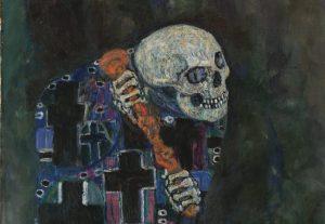 Gustaw Klimt, Śmierć i życie, 1910-15, Muzeum Leopoldów w Wiedniu