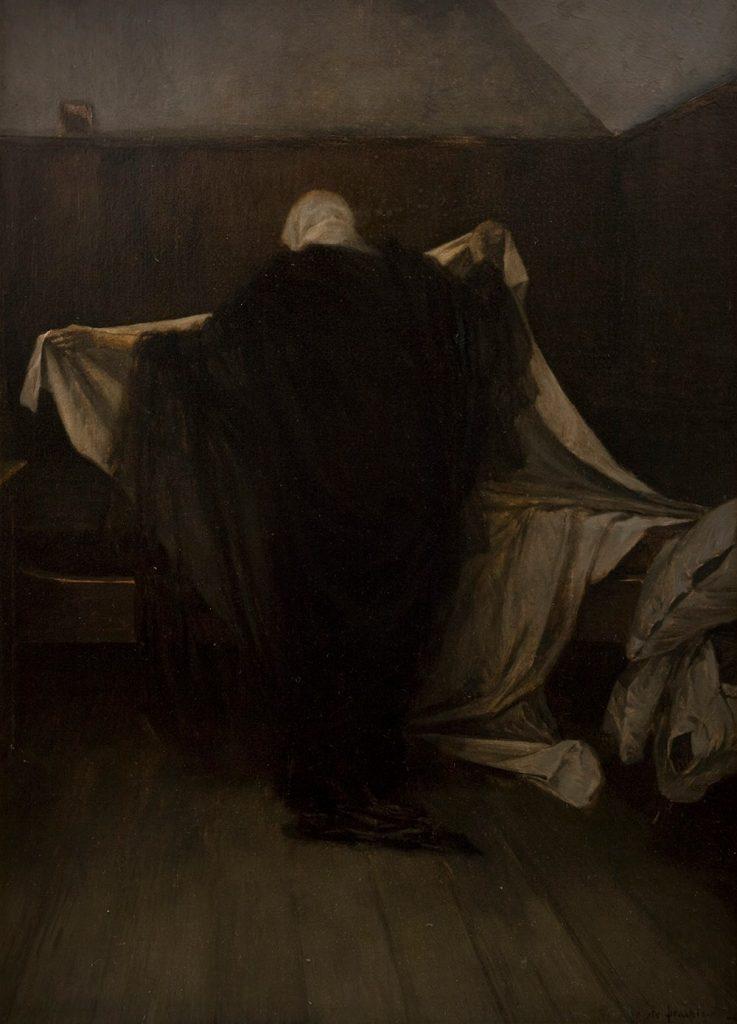 Piotr Stachiewicz - Śmierć - Ukojenie, 1883-1885, Muzeum Narodowe w Krakowie