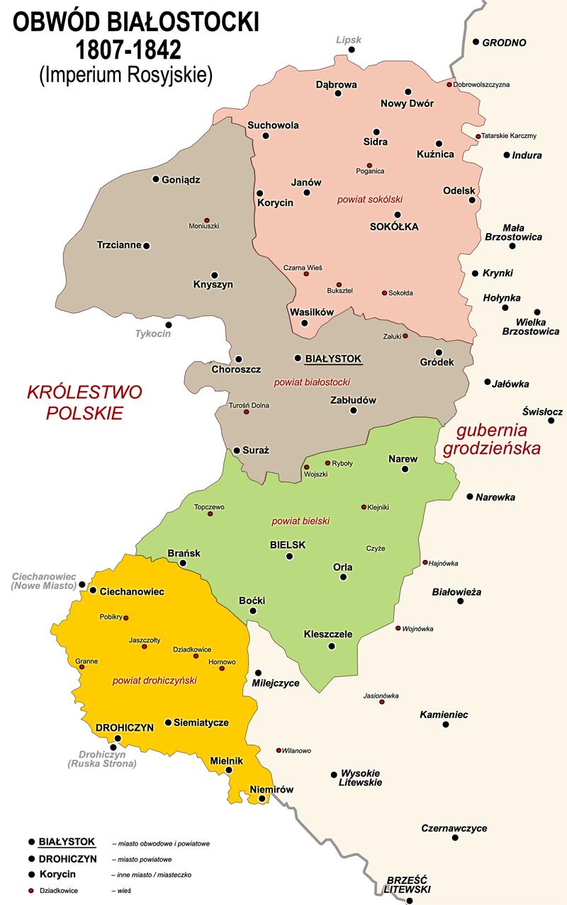 Obwod Bialostocki 1807-1842