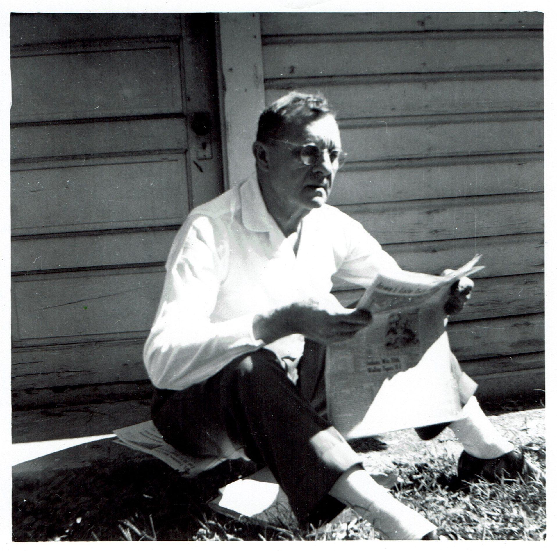 Charles Jerome (Kazimierz Jaroma) około 1950 roku