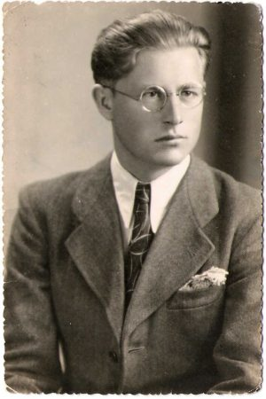 Ludwik Bykowski w 1950 r.